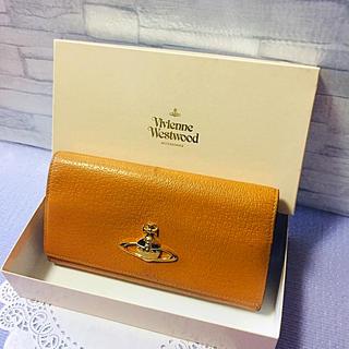 ヴィヴィアンウエストウッド(Vivienne Westwood)のヴィヴィアンウエストウッド  がま口 長財布☆キャメル(財布)