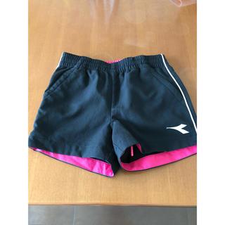 DIADORA - DIADORA テニスウェア ジュニア ガールズ 140 ショートパンツ
