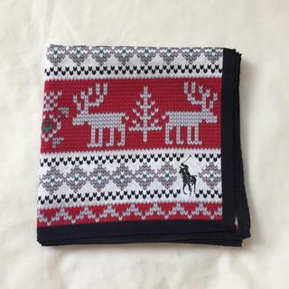 ラルフローレン(Ralph Lauren)のラルフローレン ハンカチ ハンカチーフ クリスマス ユニセックス 男性 女性(ハンカチ/ポケットチーフ)