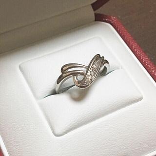 ジュエリーマキ(ジュエリーマキ)のHARU様 専用 Pt850 ダイヤモンド デザイン リング(リング(指輪))