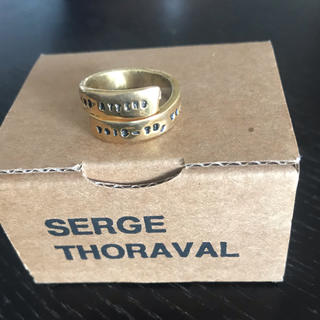 アッシュペーフランス(H.P.FRANCE)の最終値下げ❗️SERGE THORAVAL Bonheur 幸せの手錠 リング(リング(指輪))