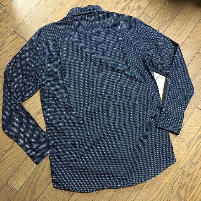 UNIQLO(ユニクロ)の美品UNIQLO ドット柄シャツ ユニクロ メンズのトップス(シャツ)の商品写真