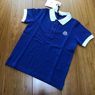 モンクレール(MONCLER)の新品タグ付き♡モンクレールキッズ ポロシャツ5A(Tシャツ/カットソー)
