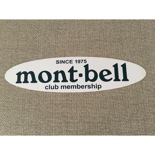mont bell - モンベル ステッカー