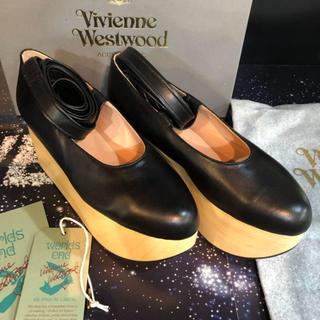 ヴィヴィアンウエストウッド(Vivienne Westwood)の現地 ロンドン配送 Vivienne ロッキンホース バレリーナ UK4(ローファー/革靴)