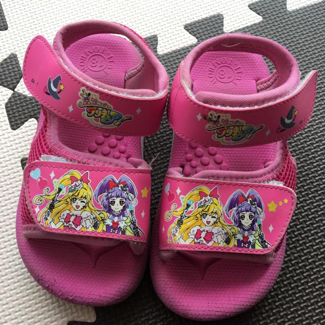 サンダル  プリキュア キッズ/ベビー/マタニティのキッズ靴/シューズ(15cm~)(サンダル)の商品写真