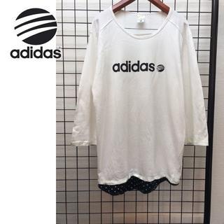 アディダス(adidas)のアディダス NEO 七分袖シャツ(Tシャツ/カットソー(七分/長袖))