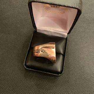 テンダーロイン(TENDERLOIN)のTENDERLOIN テンダーロイン ホースシューリング 13号 金ダイヤ(リング(指輪))