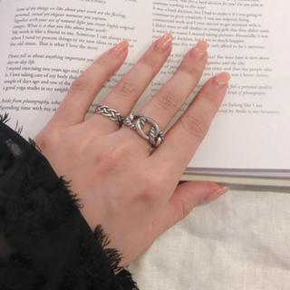 トゥデイフル(TODAYFUL)のシルバー925 デザインリング silver925 リング(リング(指輪))