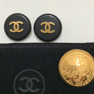 シャネル(CHANEL)のシャネルのボタン2個&小袋などおまけ(テーラードジャケット)