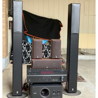 ヤマハ(ヤマハ)のWi-Fi対応5.1chYAMAHAホームシアターサラウンドシステム(スピーカー)
