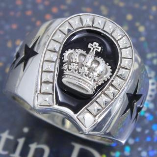 ジャスティンデイビス(Justin Davis)のジャスティンデイビス 19号 ラックスタークラウンリング 高級 人気 希少(リング(指輪))