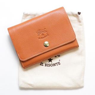 4ba54d76c218 イルビゾンテ(IL BISONTE)の新品 イルビゾンテ 財布 二つ折り ヤキヌメ レザー ミニ財布 小銭