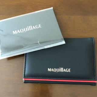 マキアージュ(MAQuillAGE)のマキアージュ ミラー付きケース あぶらとり紙 セット ノベルティ ポイント消化に(ミラー)