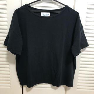 ドアーズ(DOORS / URBAN RESEARCH)のアーバンリサーチ デザインTシャツ  黒(Tシャツ(半袖/袖なし))