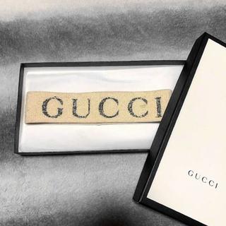グッチ(Gucci)のグッチ ロゴヘアバンド gucci(ヘアバンド)