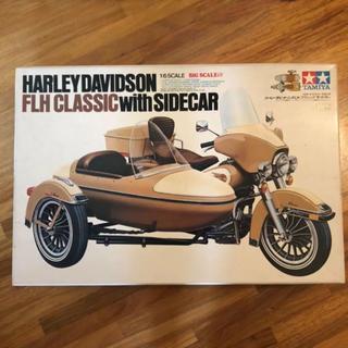 ハーレー ダビットソン FLH クラシックサイドカー プラモデル レア ハーレー