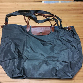 701d2446d8d2 ロンシャン(LONGCHAMP)の新品 送料込 ロンシャン風 大きめハンドバッグ(ハンドバッグ)
