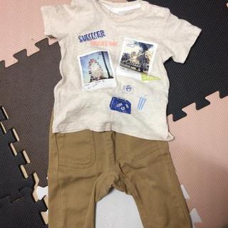 ブリーズ(BREEZE)のベビー Tシャツ&パンツセット 80cm(パンツ)