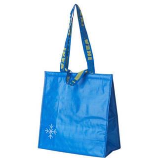 イケア(IKEA)の新品未使用 IKEA 保冷バック クーラーバック ブルー(日用品/生活雑貨)
