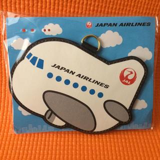 ジャル(ニホンコウクウ)(JAL(日本航空))の4wayネームタグ✨JAL カードケース ホルダー リール付きキーホルダー✨(パスケース/IDカードホルダー)