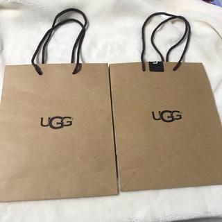 アグ(UGG)のUGG アグ ショップ袋 ショッパー(ショップ袋)