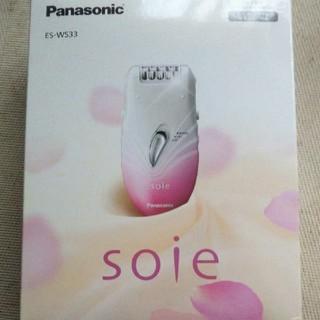 パナソニック(Panasonic)の脱毛器 ソイエ soie ES-WS33-P ピンク パナソニック(レディースシェーバー)