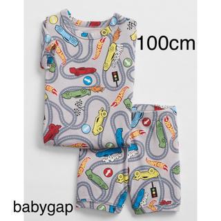 ベビーギャップ(babyGAP)の【新品】100cm/3years Hot Wheels© 半袖パジャマセット(パジャマ)