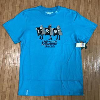 エルアールジー(LRG)のタグ付 lrg Tシャツ Sサイズ(Tシャツ/カットソー(半袖/袖なし))