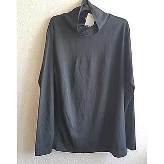 ジーユー(GU)のGU SPORTS サイドシームレスハイネックTサイズLタグ付き未使用品(Tシャツ(長袖/七分))