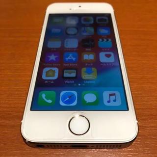アップル(Apple)のiPhone 5s Gold 16 GB docomo 【 美品 】(携帯電話本体)