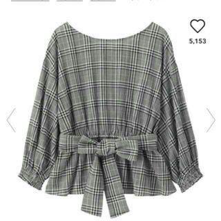 e120adfbfb3a ジーユー リボンシャツ シャツ/ブラウス(レディース/長袖)の通販 200点 ...