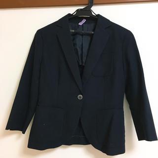 ユニクロ(UNIQLO)の女性用 スーツ 上下セット 春~秋 小柄な方向け(スーツ)