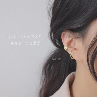アメリヴィンテージ(Ameri VINTAGE)のj155.S925 wide ear cuff(gold)(イヤーカフ)