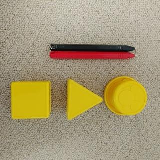 タカラトミー(Takara Tomy)のせんせい 2カラー ミッキー ペン スタンプ セット(知育玩具)