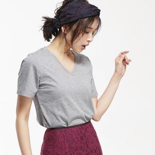 ナノユニバース(nano・universe)のVネックTシャツ(Tシャツ(半袖/袖なし))