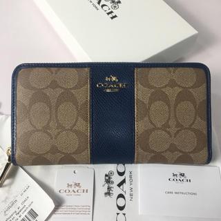 9bb802d99772 コーチ(COACH) 財布(レディース)(ブルー・ネイビー/青色系)の通販 700 ...