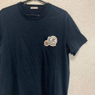 モンクレール(MONCLER)の【モンクレール モンクレー MONCLER】Tシャツ ダブルワッペン 即完売品(Tシャツ/カットソー(半袖/袖なし))