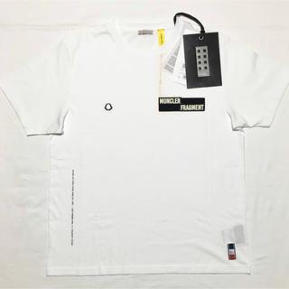 モンクレール(MONCLER)の新品 SS19 モンクレール フラグメント Tシャツ ホワイト(Tシャツ/カットソー(半袖/袖なし))