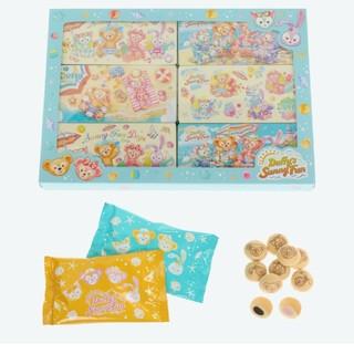 ダッフィー(ダッフィー)のダッフィー クリームフィルド ビスケット 紙箱sunny fun(菓子/デザート)