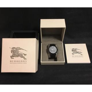 バーバリー(BURBERRY)のBURBERRYクロノグラフ腕時計BLACK(腕時計(アナログ))
