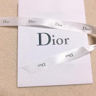 クリスチャンディオール(Christian Dior)のDior 新品 サテンリボン 長(各種パーツ)