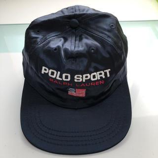 ラルフローレン(Ralph Lauren)のポロ スポーツ ラルフローレン POLO ビンテージ オールド キャップ 90s(キャップ)