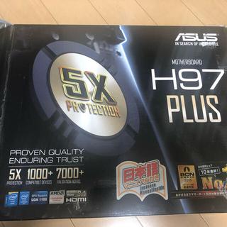 エイスース(ASUS)のマザーボード H97Plus(PCパーツ)