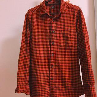 ユニクロ(UNIQLO)のユニクロ/ギンガムチェックシャツ/S(シャツ)