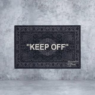 オフホワイト(OFF-WHITE)の【新品未使用、送料込】 IKEA × ヴァージル アブロー ラグ(ラグ)