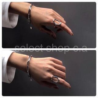 エンフォルド(ENFOLD)のsilver925 サークルリング silver925 リング(リング(指輪))