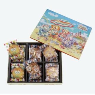 ダッフィー(ダッフィー)のダッフィー アソーテッド クッキー缶 sunny fun (菓子/デザート)