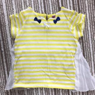 シマムラ(しまむら)のボーダー カットソー Tシャツ 80 女の子(Tシャツ)