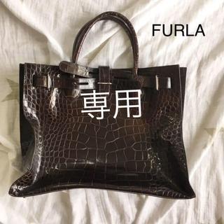 cd5eb3e1f90e フルラ(Furla)のFURLA フルラ バッグ レザー 型押し ハンドバッグ(ハンドバッグ)